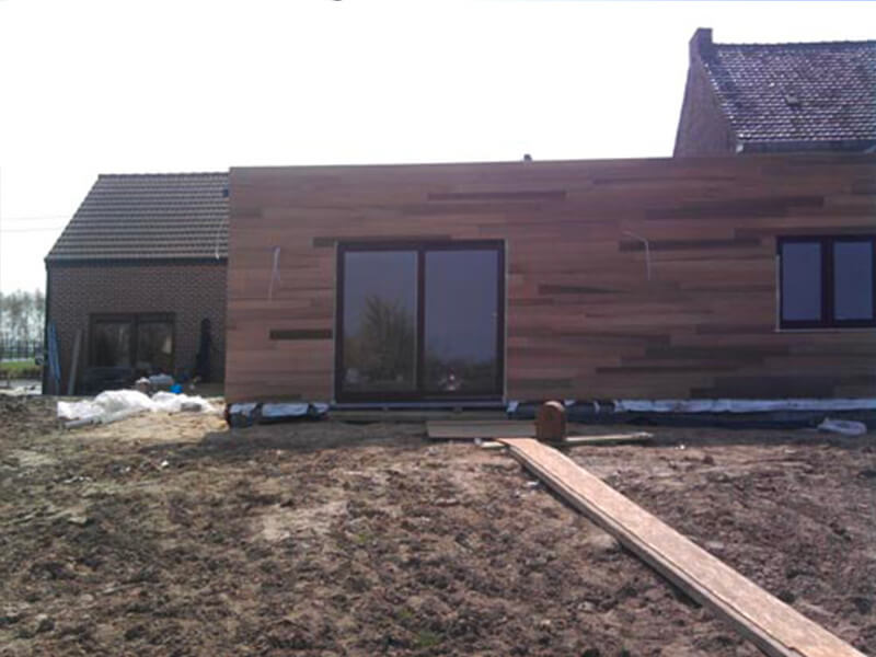Maison ossature bois Belgique