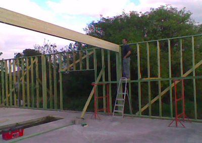 Construction d'un Hangar 04